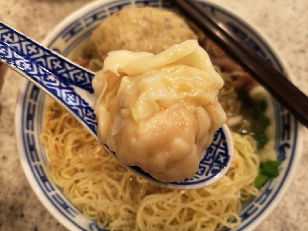 Michelin star noodles in Hong Kong